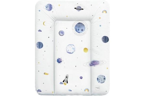 Матрас пеленальный на комод Ceba Baby 70х50 см мягкий Universe