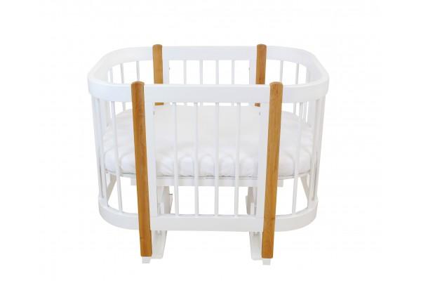 Кроватка-трансформер детская 3в1 Happy Mom Limited