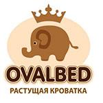 Ovalbed - овальная кроватка 7в1 с функцией укачивания